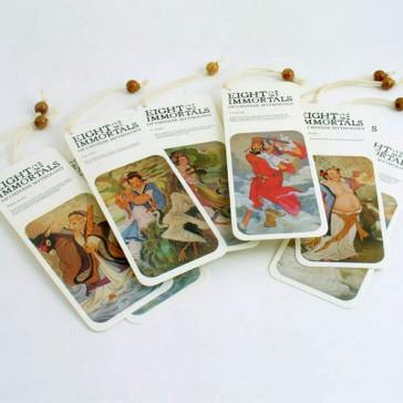 Bookmarks - Eight Immortals of Chinese Mythology (Set of 8)