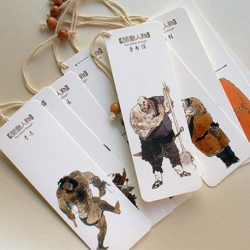 Bookmarks - Characters in Water Margin - Outlaws of the Marsh (Set of 10)