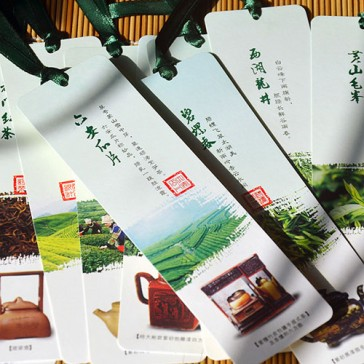 Bookmarks - Famous Chinese Teas and Teapots (Set of 10)