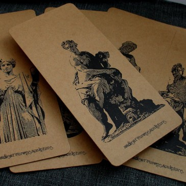 Bookmarks - Famous Sculptures (Set of 6)