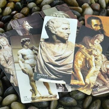 Bookmarks - Sculptures of Michelangelo (Set of 10)