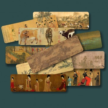 Chinese Painting Bookmarks - Ten Masterpieces (Set of 10)