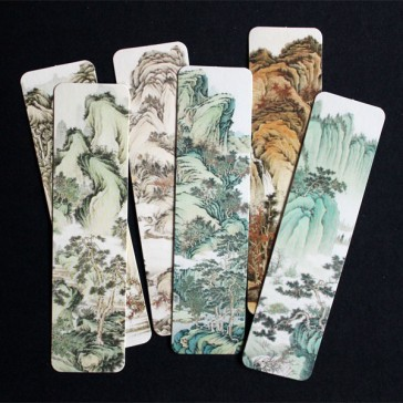 Landscape Painting Bookmarks (Set of 6)