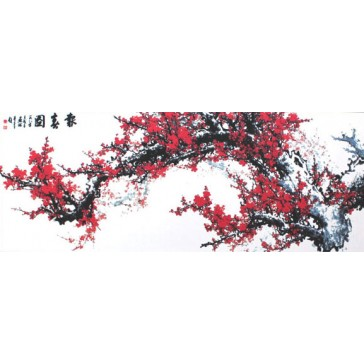Chinese Painting - Plum Blossoms