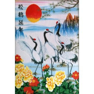 Pine and Crane for Longevity