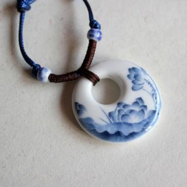 Lotus Pattern Necklace