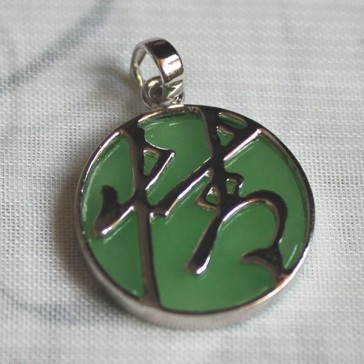 Chinese Symbol for Affection Pendant