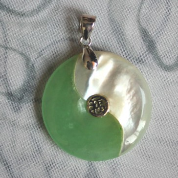 Yin Yang Symbol Pendant for Blessing