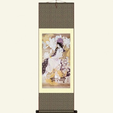 Silk Wall Scroll - Pretty Girl