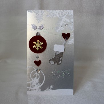 Merry Christmas Greeting Cards #2 (Set of 5)