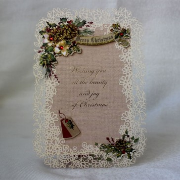 Merry Christmas Greeting Cards #6 (Set of 5)
