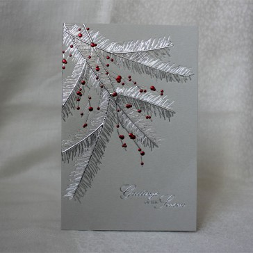 Happy New Year Greeting Cards #1 (Set of 5)