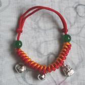 Silve Buddha Bracelet