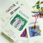 Bookmarks - 12 Constellations (Set of 12)