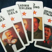 Bookmarks - Five Communist Leaders (Set of 5)