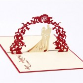 Handmade 3D Greeting Cards - On Your Wedding Day