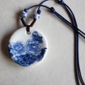 Peony Pattern Necklace