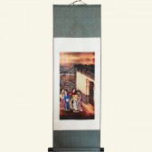 Ladies Assembly Chinese Painting Silk Scroll