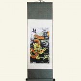 Auspicious Dragon Chinese Wall Scroll