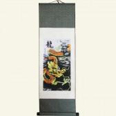 Auspicious Dragon Chinese Wall Scroll