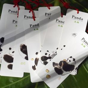 Chinese Panda Painting Bookmarks (Set of 8)