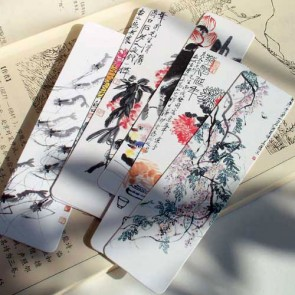 Bookmarks - Chinese Paintings by Qi Baishi (Set of 6)