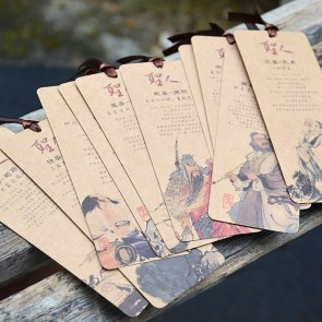 Bookmarks - Ten Chinese Sages (Set of 10)