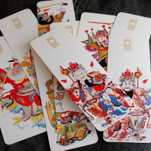 Bookmarks - Chinese Door Gods (Set of 10)