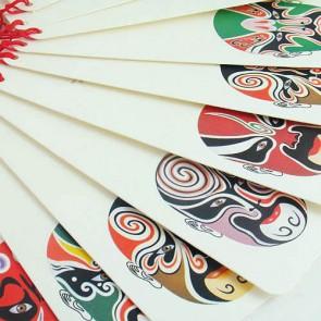 Bookmarks - Peking Opera Face Paintings (Set of 12)