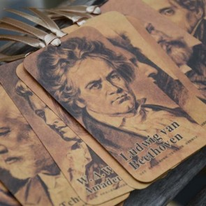 Greatest Musicians of the World  (Set of 10 Bookmarks)