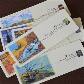 Bookmarks - Paintings by Van Gogh (Set of 6)