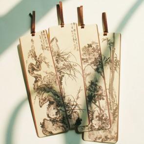 Four Gentlemen Painting Bookmarks (Set of 4)