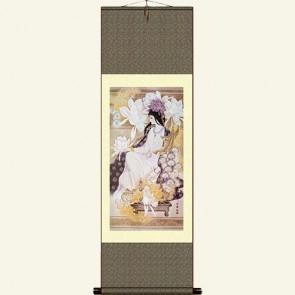 Silk Wall Scroll - Pretty Girl