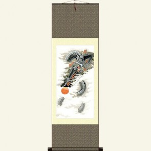 Chinese Dragon Wall Scroll