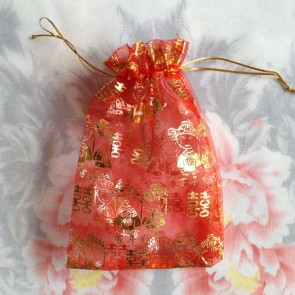 Mesh Wedding Favor Bag